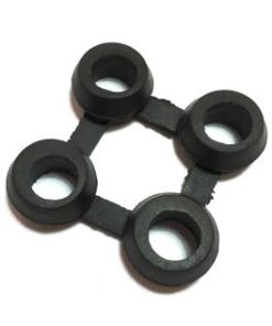 Pavimento alveolar encastrable con conector (suministrable aparte)
