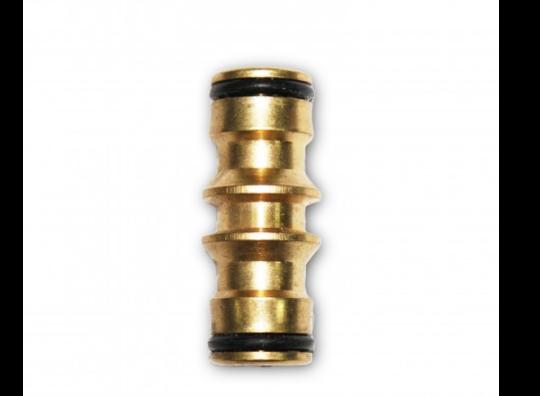 Conector simple de latón