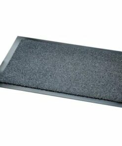 Felpudo jaspeado color gris