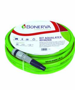Kit manguera para riego Aqualatex reforzada (rollo de 15 metros)