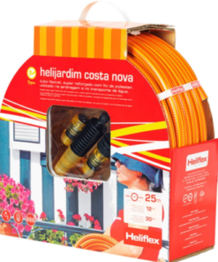 Kit de manguera para jardín Helijardim Costa Nova 15 mm (rollo de 25 metros)