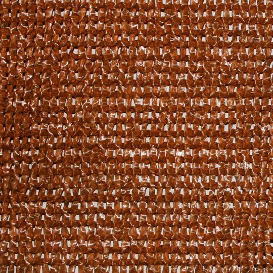Malla separadora en rollo color brezo