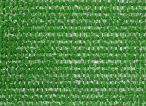 Malla separadora color verde