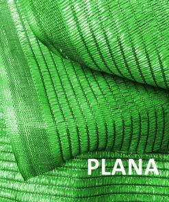 Malla de sombreo verde