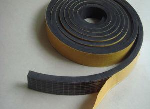 Perfil esponjoso con adhesivo rollo de 10 metros (20 mm de espesor)
