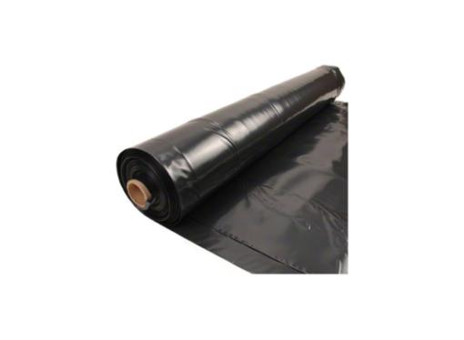 Plástico para agricultura negro de 400 galgas por rollo