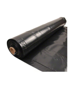 Plástico negro para agricultura de 600 galgas por rollo