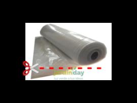 Plástico transparente de 700 galgas por metro lineal