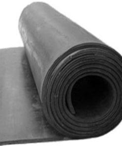Plancha de goma SBR con tejido por rollo (1 m de ancho)