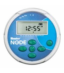 Programador de riego autónomo de pilas Hunter NODE 400