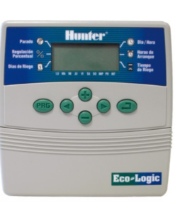 Programador de riego Hunter ECO-LOGIC para interior