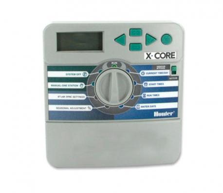 Programador de riego Hunter X-CORE XC-801 (8 estaciones)