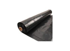 Plástico negro de 700 galgas por metro lineal