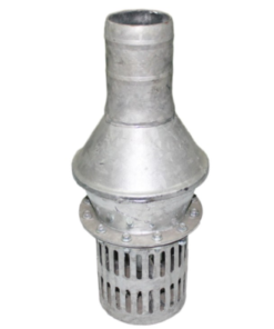 Válvula de pie galvanizada