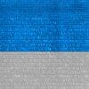 malla de sombreo blanca y azul