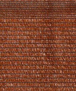 Malla de sombra marrón