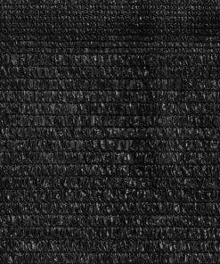 Malla de sombra negra