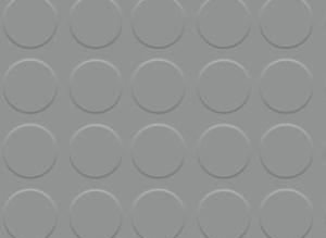 Pavimento círculo gris 3 mm por metro lineal (1 m de ancho)