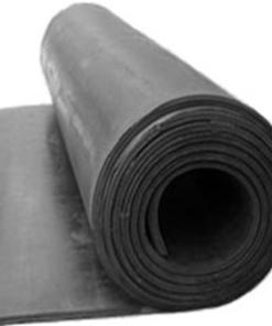 Plancha de goma SBR con tejido por tramos (1 m de ancho)