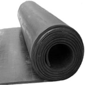 Plancha de goma SBR con tejido por metro lineal (1 m de ancho)