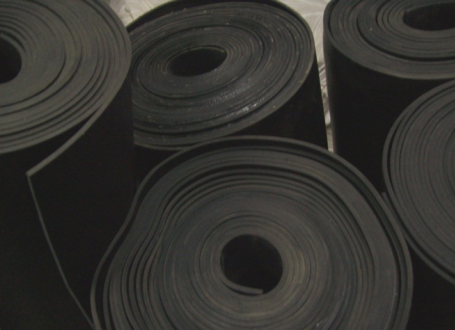 Plancha de nitrilo por metro lineal (1 m de ancho)
