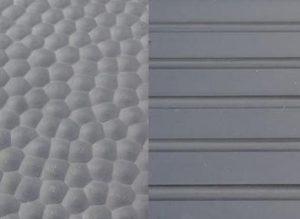 Pavimento de goma tipo «avellanado»