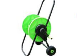 Carro portamanguera telescópico