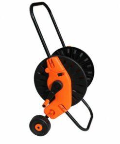 Carro portamanguera con ruedas
