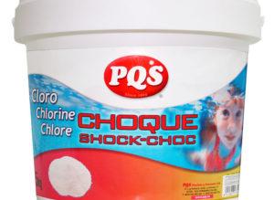 Dicloro choque PQS