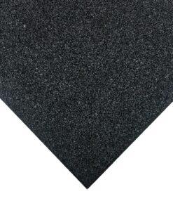 Pavimento infantil loseta de caucho negra 100 x 100 cm