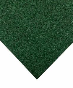 Loseta infantil caucho verde 100 x 100 cm