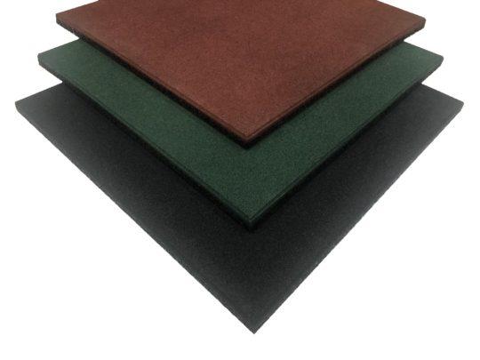 Loseta de caucho 50 x 50 x 2 cm