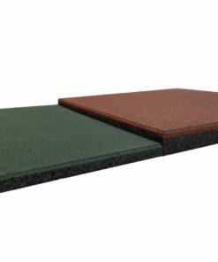 Loseta de caucho alta densidad 50 x 50 cm