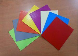 Telas de pvc en colores