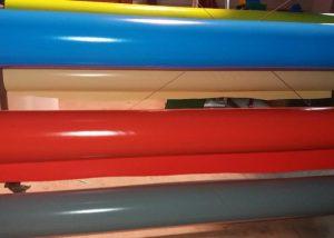 Rollos de lonas de PVC
