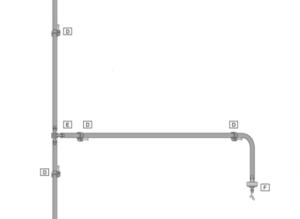 Kit de microriego de 20 metros