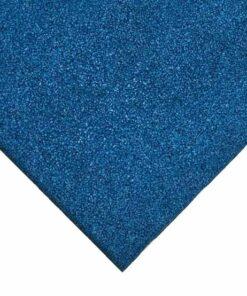 Loseta de caucho azul 100 x 100 cm