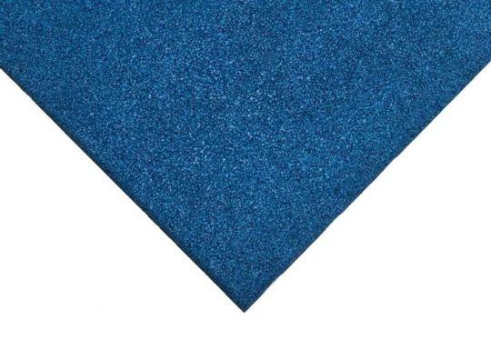 Loseta de caucho azul