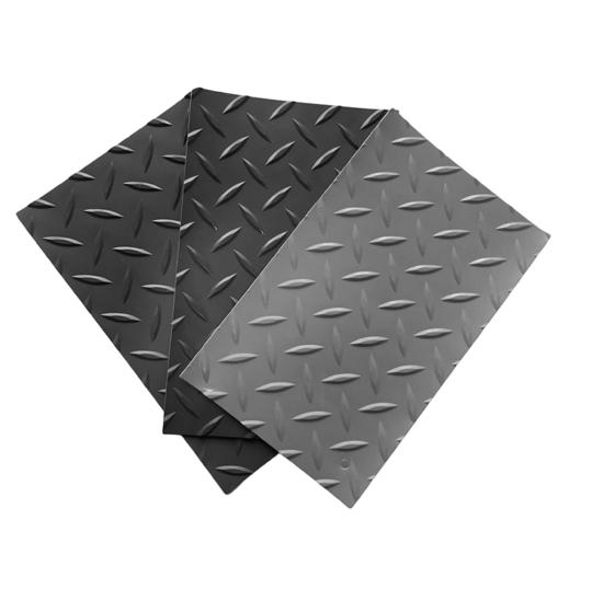 Pavimento de pvc tipo diamante de 1 mm por rollo