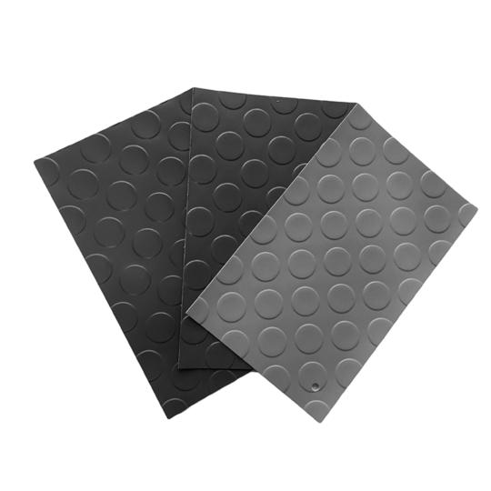Pavimento de pvc de círculos de 1 mm por metro lineal