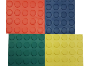 Pavimento de circulo de color de 3 mm por metro lineal