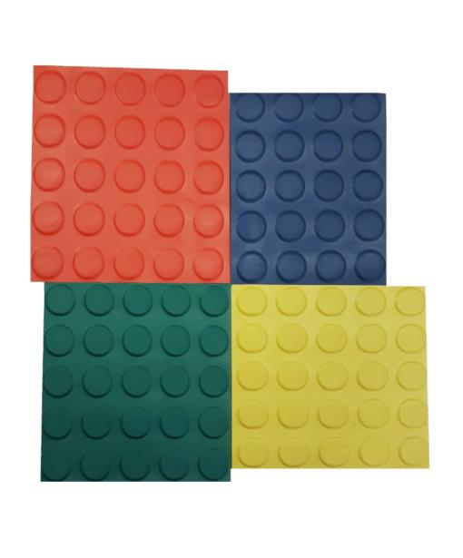 Pavimento de circulo de color de 3 mm por tramos