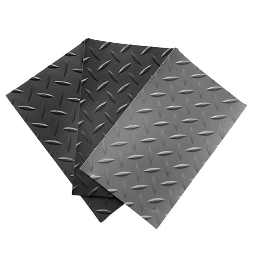 Pavimento de pvc tipo diamante de 1 mm por metro lineal
