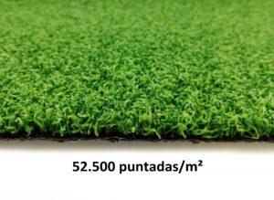 Césped artificial alta densidad por metro lineal