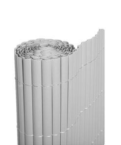 Cañizo PVC media caña