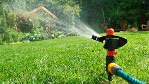 Aspersores de riego para jardín